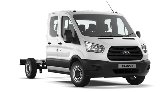 FORD TRANSIT DOUBLE CHASSIS CAB